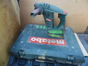 Metabo Bha18 18 Volt Cordless Rotary Hammer Drill Battery D 72622 Case