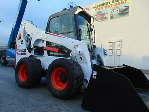 2015 Bobcat S 740 Turbo 2 Speed Air Conditioned Stereo Power Coupler