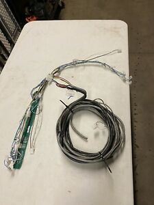 Whelen 50 Justice Competitor I o Board Plus Wiring Harnesses 10 Feet