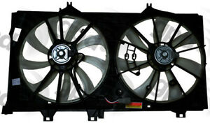 Engine Cooling Fan Assembly Fits 2012 2015 Toyota Camry Global Parts