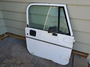 Jeep Wrangler Yj 87 95 Oem Full Hard Rh Passenger Door W Glass Mirror Liner