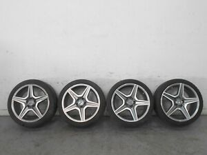 2013 12 14 15 Mercedes Amg C63 18 Inch Wheel And Tire Set 5716