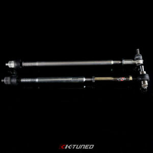 K tuned Complete Inner Outer Spherical Tie Rods Set For 02 06 Rsx 01 05 Civic