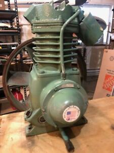 Champion 7339 5 Hp Air Compressor Pump Good Condition 1 Cylinder