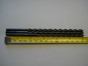 Lot Of 3 Guhring 4 9mm 196 X 6 Solid Carbide Parabolic Drill