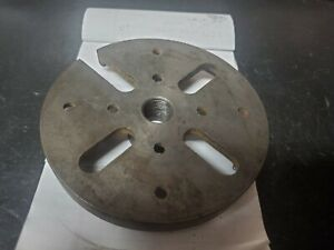 Sears Craftsman Wood Lathe 5 1 4 Face Plate Sanding Disc L2365 3 4 20 Threads