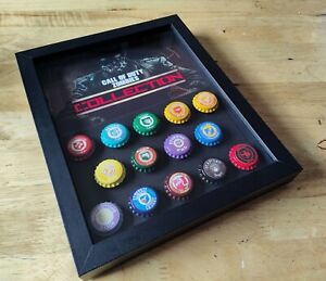 Call of Duty zombies perks Black Ops 1234 perk a cola in a shadowbox $35.00