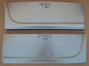 1935 1936 Ford 5 Window Coupe Roadster Rear Quarter Patch Pair