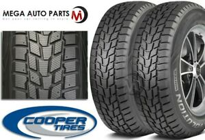 2 Cooper Evolution Winter 215 45r17 91h Studdable Winter Snow 3pmsf Tires