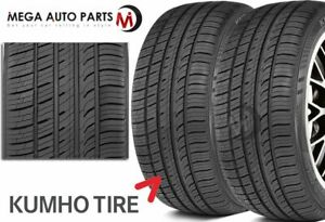 2 X Kumho Ecsta Pa51 205 45r17 88v Xl Uhp Performance All Season 45k Mile Tires