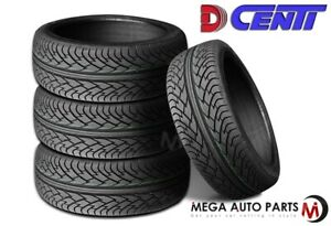 4 New Dcenti D9000 305 45r22 118v All Season Uhp High Performance 50k Mile Tires