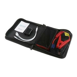 Portable Mini Slim Car Jump Starter Engine Battery Charger Usb Phone Charger