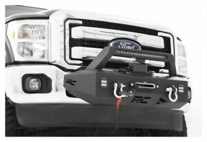 Rough Country Exo Front Winch Mount System 11 16 Super Duty 51006
