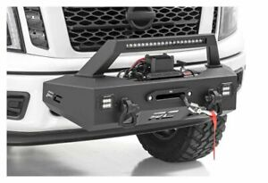 Rough Country Exo Front Winch Mount System For 16 20 Titan 82000