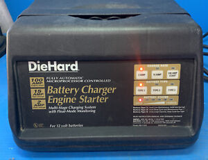 Die Hard Battery Charger Engine Starter 2 100 Amp Tested And Working