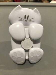 Post it Pop up Dispenser Sticky Note 3x3 In White Cat Desk Figure Office Teacher