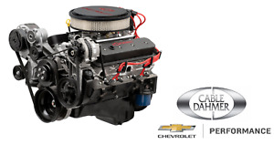 New Chevrolet Performance Gm Sp383 Efi Turn Key Engine 450hp 19420597