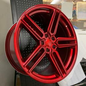 20x9 5x114 3 Et35 Cb73 1 Red Set Of 4 Wheels