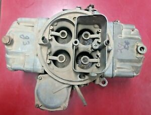 Holley Carburetor List 4628 1970 Torino Cyclone 429 Scj Super Cobra Jet