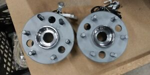 Lot Of 2 Front Wheel Hub And Bearing Assemblies ac Delco 515024