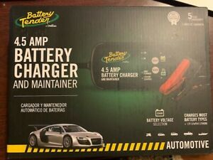 Deltran Car Battery Tender 4 5 Amp Automobile Battery Charger Maintainer