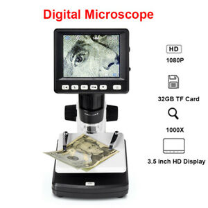 1000x Digital Hd Rechargeable Video Microscope Magnifier Endoscope For Computer