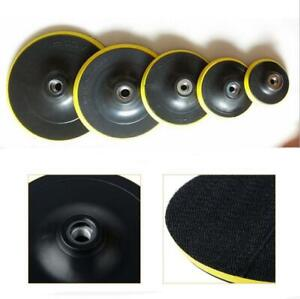 3 4 5 6 7 Auto Polisher Bonnet Buffing Backing Pad Sander Disc Car Polishings