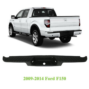 New Textured Rear Bumper Molding Step Pad For 2009 2014 Ford F150 9l3z17b807a