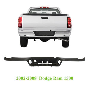 New Textured Rear Bumper Step Pad Cover For 2002 2008 Dodge Ram 1500 Ch1191110