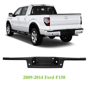 Textured Rear Bumper Molding Step Pad For 2009 2013 2014 Ford F150 W sensor Hole