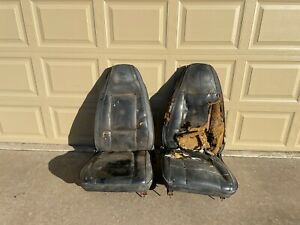 1970 1974 E Body Bucket Seats Tracks Dodge Challenger Plymouth Cuda