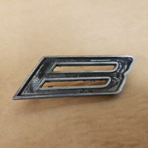 Mg Mgb Gt Original Rear Boot Hatch Door B Emblem Letter Badge Oem