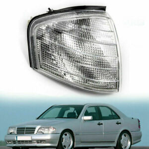 For Mercedes Benz C Class W202 1994 2000 Right Corner Lights Turn Signal Lamps