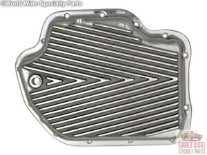 Turbo 400 Th400 Hd Deep Transmission Pan 2 Qts Extra Cap Polished Aluminum