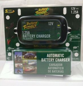 Deltran Battery Tender Plus Automatic Charger And Maintainer 12v 1 25a New