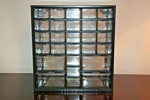 27 Drawer Small Parts Cabinet Storage Bin Organizer 23 Small 4 Larger
