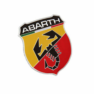 For Fiat Abarth 500 Car Accessories Sticker Emblem Side Badge Decal Styling Logo