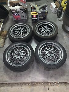 Miro 368 18x8 5 Wheels With Tires