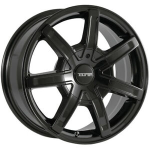 4 Touren Tr65 17x7 5 6x135 6x5 5 20mm Black Wheels Rims 17 Inch