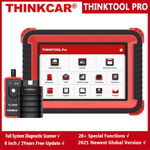 Thinkcar Thinktool Pro Car Full System Obd2 Diagnostic Scanner Ecu Coding Tool