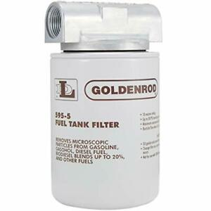 Goldenrod 595 3 4 Canister Fuel Tank Filter With 3 4 Npt Top Cap