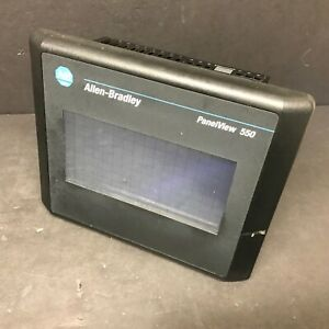 Allen Bradley 2711 t5a8l1 Ser B Rev E Frn 4 46 Panelview 550 Perfect Touchscreen