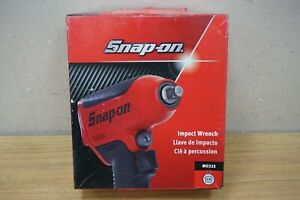 Snap On 3 8 Drive Air Impact Wrench Gun Pneumatic Tool Mg325 Red