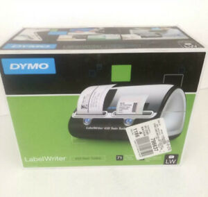 Dymo Label Writer 450 Twin Turbo Thermal Printer And 2x Boxes Of Labels
