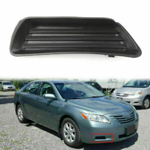 Front Bumper Fog Light Cover W o Fog Right Side Fits 07 2008 2009 Toyota Camry