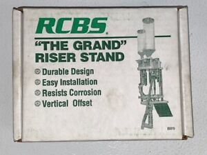 RCBS The Grand Riser Stand for Reloading Press Free Shipping 89010 $29.00