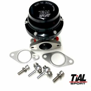 Tial 38mm Authentic External Wastegate 1 Bar Black F38