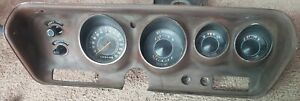 1971 1973 Mopar B Body 150 Mph Rallye Dash Cluster 71 72 Charger Road Runner