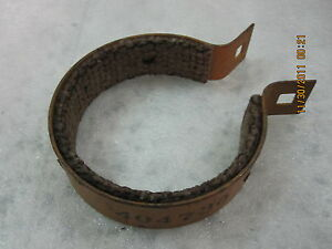 Military Dodge Wc M37 Truck Jeep Willys Mb Komatsu America Winch Brake Band Nos
