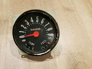 Original Jeep Cj3b Cj4 Cj5 Cj6 90mph Speedometer Nos Made In Usa
